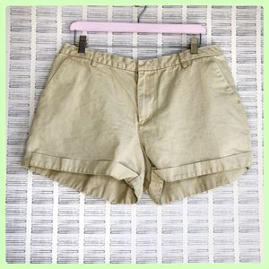 Old Navy Kaki Cotton Shorts